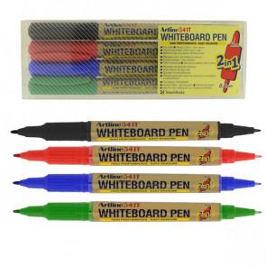 Whiteboard Markers | Artline 541T - Wallet Set 4 Pens