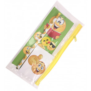 Emoji Gift | Filled Pencil Case with Emoji Stationery.