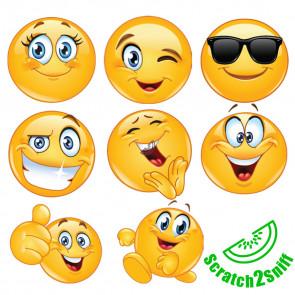 Smelly Stickers | Kool Smiles Smelly Stickers - Emoji Design