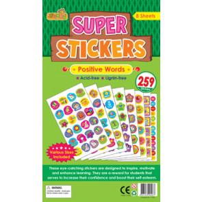 Teacher Stickers | Positive Words, Reward Stickers for Schools