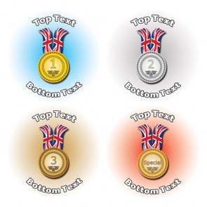 Personalised Stickers for Kids | Sports Medals for School Sports Days
