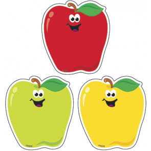 Classroom Display Picture Cards   Smiling Rosy Red Apple