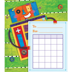 Children's Reward Chart Pad - 36 sheets |  Riveting Robots