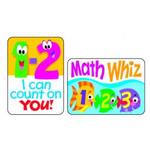 Maths Fun Reward Stickers for School