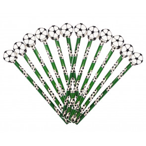 Class Gift / Pupil Presents | Football Pencils with Large Eraser Ends - Value tub