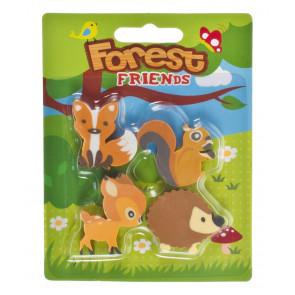 Class Gifts | Forest Friends Eraser Set