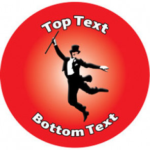 Personalised School Stickers | Tap Dancer! Design Custom Standard and Scented Stickers