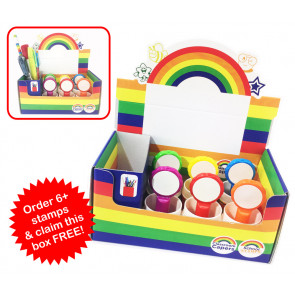 Teacher Stamps | Free Storage Box with 6+ Stamps. MUST be added to cart to qualify