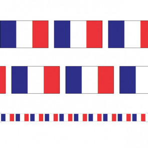 Display Borders | French Flags - 12 metres