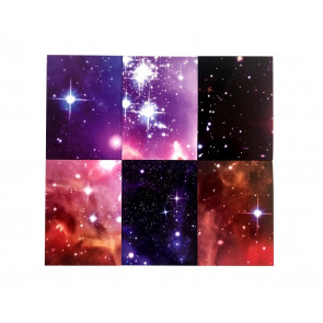 Class Gifts | 12 x Galaxy - Space and Stars Design Mini Notepads