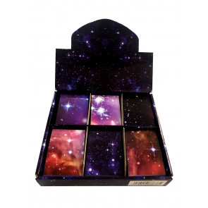 Low Cost Gifts | Galaxy - Space and Stars Design Notepads x 48