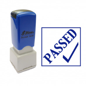 Teacher Stamp | Passed Tick design school stamps