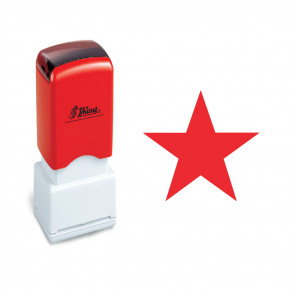 Self-Inking Stamps | Red Star