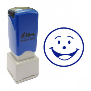 Self-Inking Stamps | Smiley Face Stamp. 11mm, Self-inking.