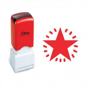 Teacher Stamp | Craft Stamp | Red Star. Self-inking