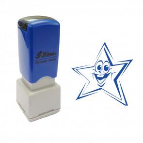 Teacher Stamp | Smiley Star design message school stamp