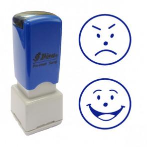 School Stamps | Happy / Sad Faces - Value 2 Stamp Set