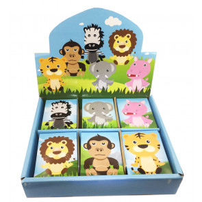 Class Gifts | 48 x Jungle Animals Mini Notepads
