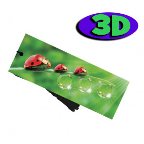 3D Bookmarks | Lovely Ladybird Bookmark For Party Bags & Class Gifts