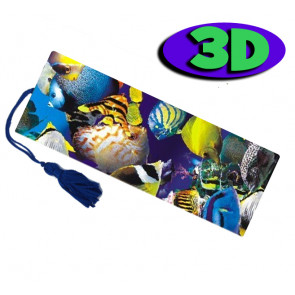 3D Bookmarks | 3D Tropical Fish - Ideal Party Bag Filler.
