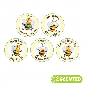 Scented Reward Stickers | Smelly Teacher Stickers, Bee Friends