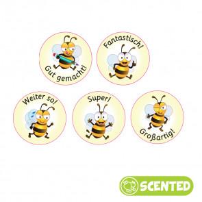 Scented Reward Stickers | German Teacher Smelly Stickers, Bee Friends