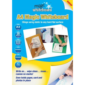 Magic Whiteboard A4 Sheets | 20 Sheet Pack