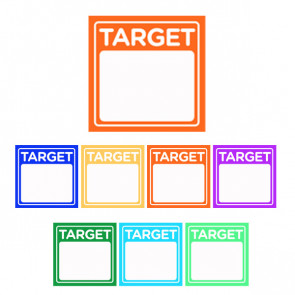Teacher Marking Stickers | Target Stickers for Personalising with Student  Next Steps / Goals  or Objectives
