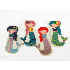 Gifts / Party Bags | Mystical Mermaids Large Erasers