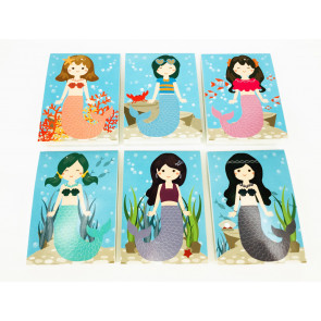 Class Gifts / Party Bags | Mystical Mermaids Memo / Notepads