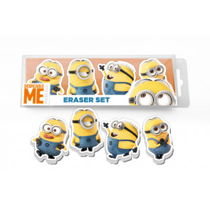 Despicable Me Gifts | Minion Despicable Me Eraser Set