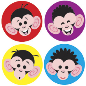 Kids Stickers   Monkey Mayhem School Stickers for Teachers