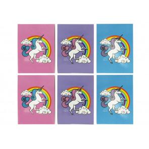 Class Gifts | Rainbow Unicorn Notepads x 12
