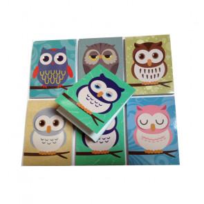 Class Gifts | Owl Mini Notepads / Memos