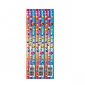 School pencils | Pack of 144 Colourful Smile Reward Pencils