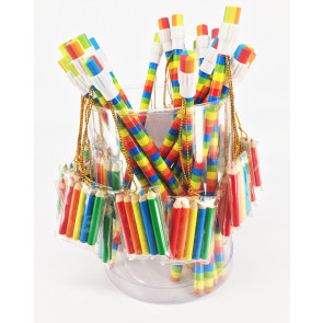 Class Gifts | Tub 24 x Rainbow Pencils with Mini Colouring Pack