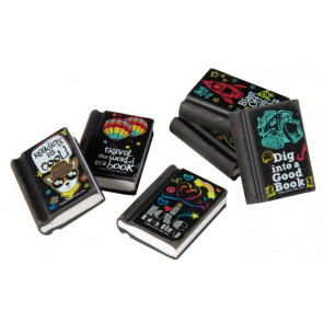 Fun Erasers | Reading Incentive Cool Erasers