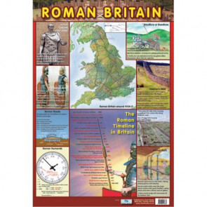 School Educational Posters | Roman Britain History Chart Poster