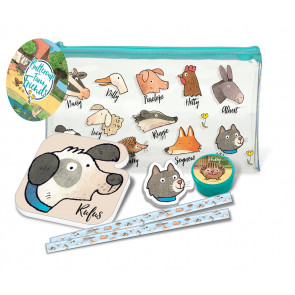 Stationery Set | RSPCA Buttercup Farm Friends Pencil Case & Stationery Set