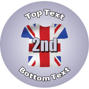 Personalised Stickers for Kids | Union Jack, Sports Second for School Sports Days