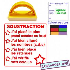 Teacher Stamp   French Language - Literacy Checklist - Dictée