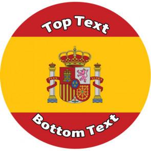 Personalised School Stickers   Spanish Reward Design Custom Standard and Scented Stickers