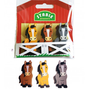 Pony Gifts | Pony Stable Eraser Set