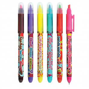 Scented Pens | Fruit Scented Highlighter and Pen Combined - Great for Party Bags, Teacher Class Gifts or Prizes