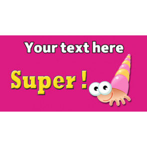 Personalised School Stickers | Super! Design Custom Standard Stickers