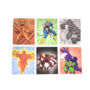 Class Gifts / Party Bags | Superhero Memo / Notepads