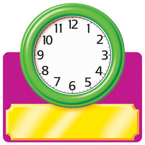 Classroom Cut Outs | Clocks to display the Time