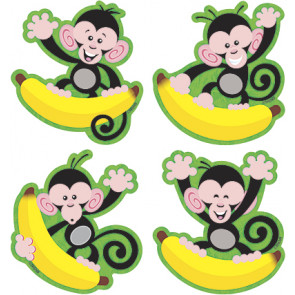 Display Picture Cards for Children | Monkeys and Bananas