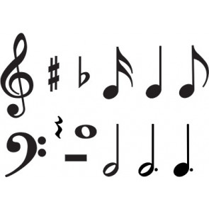 Music Symbols Classroom Display Cards