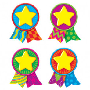 Picture Cut Out Cards for Classroom Displays   Star Medal Awards